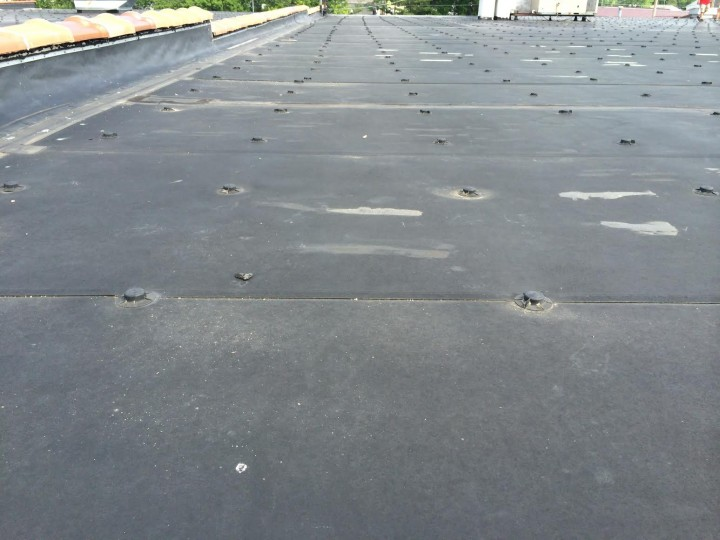 Before Commercial Roofing at West Union Town and Country, OH